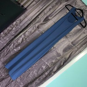 Dresses & Skirts - Blue maxi dress with small slits on bottom